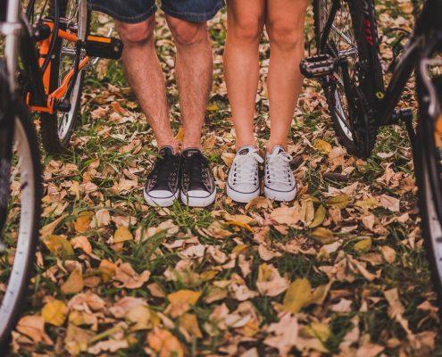 un paio di itinerari in bici orbetello argentario